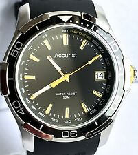 ACCURIST GENTS DATE WATCH (50M)