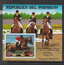 PARAGUAY Sc 1706 NH SOUVENIR SHEET OF 1976 - OLYMPICS
