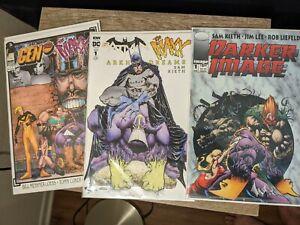 Maxx Comic Lot of 3 batman gen 13 Sam Kieth wolverine
