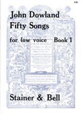 DOWLAND FIFTY SONGS BooK 1 LOW VOICE
