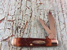 Mint Nos Camillus Sword Brand Usa Made Jack Jigged Delrin Peach Seed Cm1026
