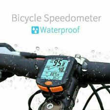 Wireless Bicycle Bike 24 functions LCD Computer Odometer Speedometer Back light