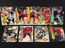 1994-95 Pinnacle Hockey LOT of ( 9 ) ARTIST'S PROOF Parallel Cards SP Rare HTF