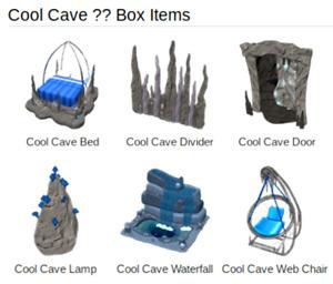 Webkinz online game virtual 8 Estore items COOL CAVE MYSTERY ?? MINI THEME