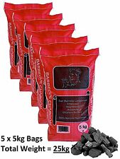 25kg Real Hardwood Lumpwood BBQ Barbecue Charcoal CHEAPEST ON EBAY!