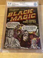 BLACK MAGIC # 6 PRE-CODE HORROR COMIC CBCS 5.0 Not CGC JACK KIRBY JOE SIMON *MP