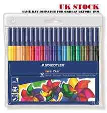 STAEDTLER Noris Club ® 326wp20 Fibre-tip 20 stylos porte-monnaie / 1mm / chromothérapie / artiste
