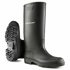 Dunlop Mens & Ladies Pricemastor 380pp Waterproof Wellington BOOTS UK 10