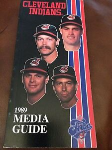 NEW, NEVER OPENED 1989 Cleveland Indians Media Guide Joe Carter Tom Candiotti