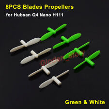 8Pcs Rotor Blades Propellers Spare Parts For Hubsan Q4 Nano H111 Mini Quadcopter