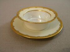 Vintage Bavaria Ramekin w/ Underplate Gold Trim