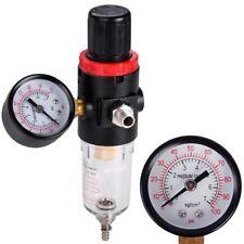 Water Trap Filter Airbrush Compressor Pressure Regulator Spray Moisture Gauge