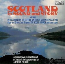 Scotland In Sound And Story LP Vinyl Record Album 33rpm Contour 1975 EX Orig 1st