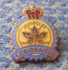HUMBOLD BRONCOS ICE HOCKEY CANADA CLUB 1970's ENAMEL PIN BADGE