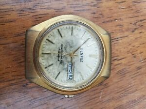 Vintage Benrus Automatic 17 Jewel Men's Watch no band and scratches