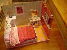 Barbie Fashion Fever Furniture and Build A Room Set Bed Room