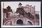 Carte postale ancienne CPA NANTES - Escalier des cent marches et Statue Ste Anne