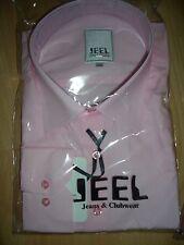 Modisches Hemd von JEEL in Slim Fit rosa Größe L Club  Shirt