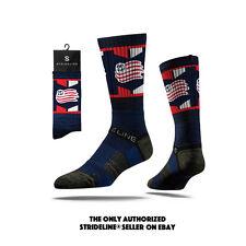 Strideline® 2.0 MLS New England Revolution Navy Crew Socks
