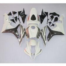 White Painted ABS Plastic Fairing Bodywork Kit For Honda CBR 600 RR F5 2007 2008