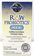 Garden Of Life Raw Probiotics Men Fresh Sealed Box 90 Capsules 06/2021+