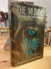 1989 First Edition Anne Rice The Mummy