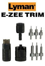 Lyman * E-ZEE TRIM Hand Case Trimmer PSTL SET Includes Six Pilots * 7821892 New!