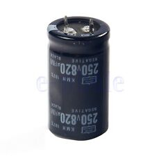 820uF 250V Electrolytic radial Capacitor DIP NEW 1pcs EW