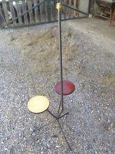 Ancien lampadaire vintage design 20ème lampe de salon déco années 1950