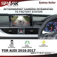 """SP REVERSE CAMERA INTEGRATED INTEGRATION SYSTEM FOR AUDI MIB II 2 7/8.4"""" 2016-17"""