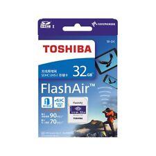 Toshiba 32 GB FlashAir W-04 Wireless SD Karte Class 10 UHS-I U3 Speicherkarte