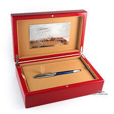 Montegrappa For Ferrari FB Argento Blue W/Silver LE Rollerball Pen #11/575