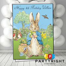 Personalised Peter Rabbit Birthday Card A5 Large - Any Name