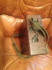 WW2 German Army Field Telephone,Dated 1940, Bakelite, Wehrmacht WITH US HEADSET