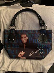 Elvis Presley Signature Handbag purse pocketbook And Wallet
