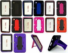 """For Samsung Galaxy Tab 2 7 7.0"""" Tablet P3100/P3110 Hybird Stand Hard Cover Case"""
