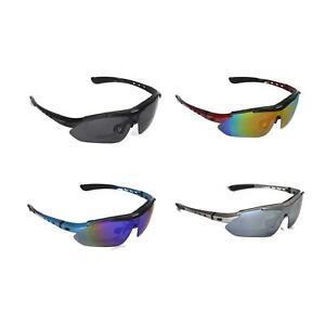 Walleva Polarized TR90 Sunglasses With Hat Clip+Prescription Lenses Insert