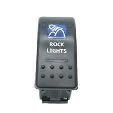 12v 20a Bar Rocker Toggle Switch Blue Led Rock Light Car On Off Universal Sales