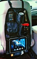 Car Back Seat Organizer Pouch Toy Accessory Storage Holder Tablet Books Crafts