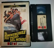 VHS IL SOMMERGIBILE PIU' PAZZO DEL MONDO di Mariano Laurenti [MITEL]