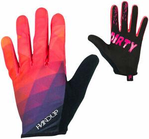 Handup Most Days Prizm Full Finger Gloves | Pink | L