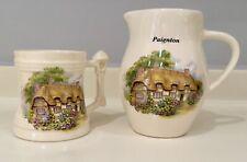 More details for brixham fine earthenware- paignton jug- buckland in the moor mug