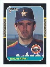 Nolan Ryan 1987 Donruss Card #138; NM-Mint; Houston Astros