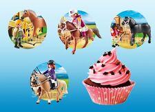Playmobil Pferde Eßbar Tortenaufleger Muffinaufleger Party Deko Geburtstag neu