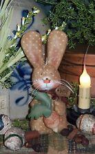 Patti's Ratties Primitive Bunny Rabbit Turnip Stumpy Doll Paper Pattern #416