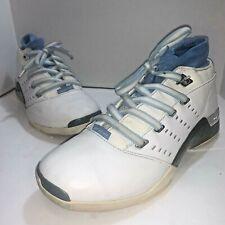Air Jordan Retro XVII 17 Low UNC Blue White Chrome College Sz 11 30389114100