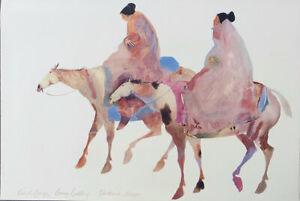 Carol Grigg The Guardians Native Southwest Art Print 25-1/2 x 38