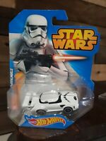 Star Wars Hot Wheels Stormtrooper Die Cast Car DISNEY Brand New Factory Sealed