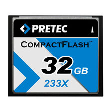 32GB Pretec Compact Flash Card 233x