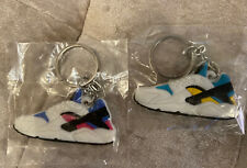 Set Of 2 Huarache Key Chain Collectible Key Ring Rare Trainer
